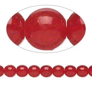 Czech Beads Crackle Glass Reds