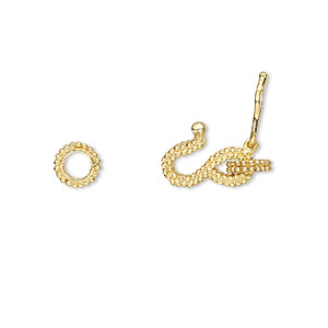 S Hook Vermeil Gold Colored