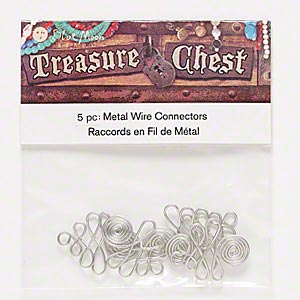 Drops Nickel Silver Colored