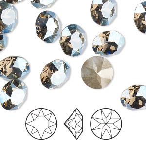 Strasssteine Glitzersteine Optima Machine Chatons Black Diamond SS39 8,3 mm #231