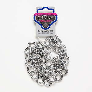 Unfinished Chain Aluminum Multi-colored