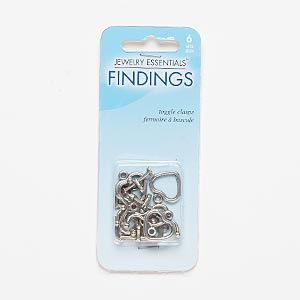 """Clasp, Toggle, Antiqued Silver-finished """"pewter"""" (zinc-based Alloy), 12x12mm 16x14mm Heart Arrow Wavy Bar. Sold Per Pkg 6"""