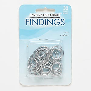 Open Jumprings Nickel Silver Colored