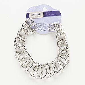 Necklace components Silver Colored Styled by Tori Spelling