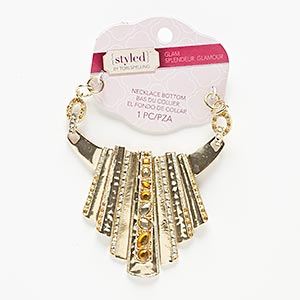 Necklace components Gold Colored Styled by Tori Spelling