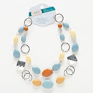 Necklace components Plastic Multi-colored