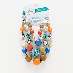 Necklace components Multi-colored Styled by Tori Spelling