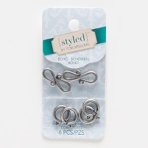 Clasp Assortments Nickel Silver Colored