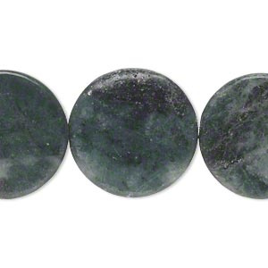 Beads Grade C Green Marble