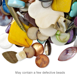Beads Mother-Of-Pearl Mixed Colors