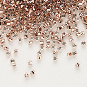 Seed Beads Glass Copper Colored
