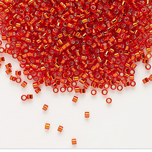 Seed Beads Glass Reds
