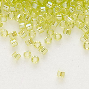 Seed Beads Glass Yellows