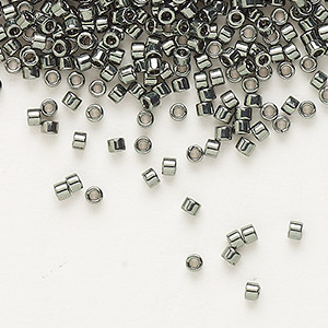 Seed Beads Glass Greys