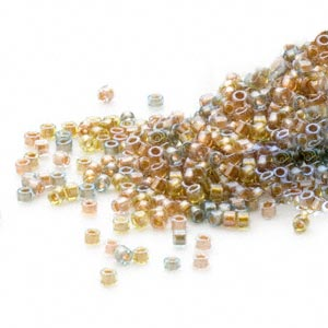 Seed Beads Glass Mixed Colors