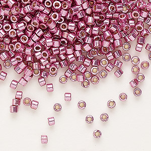 Duracoat galvanised seed bead size 8-dusty orchid