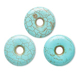 Donuts Howlite Blues