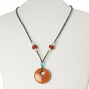 Pendant Style Oranges / Peaches Everyday Jewelry