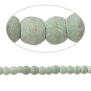 Bead, Magnesite (dyed / Stabilized), Matte Moss Green, 3x2mm-4x4mm Rondelle, C- Grade, Mohs Hardness 3-1/2 4. Sold Per 15-inch Strand