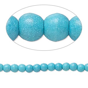 Bead, Magnesite (dyed / Stabilized), Teal, 3x2mm-4x4mm Rondelle, C- Grade, Mohs Hardness 3-1/2 4. Sold Per 15-inch Strand