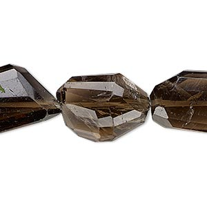 Beads Grade B Smoky Quartz