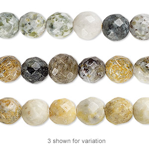 Beads Grade C Moss Marble
