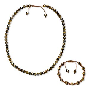 Jewelry Sets Browns / Tans Everyday Jewelry
