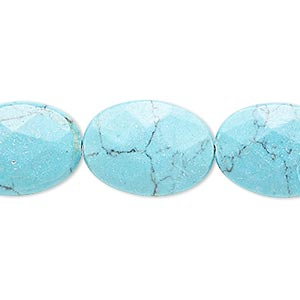 Beads Simulated Turquoise Blues