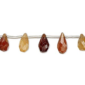 Beads Grade B Hessonite