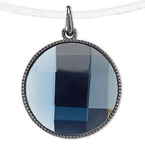 Blue moon beads pendants fire mountain gems and beads 1 pendant pkg aloadofball Images