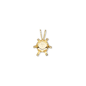 Gold pendant settings fire mountain gems and beads 1 pendant setting pkg aloadofball Choice Image