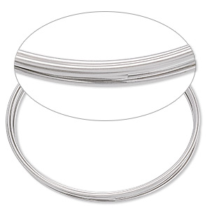 Wire-Wrapping Wire Stainless Steel Silver Colored