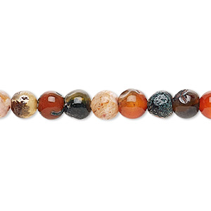 Beads Grade F Mixed Agate