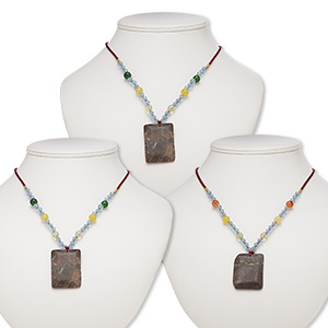 Pendant Style Grade C Multi-colored
