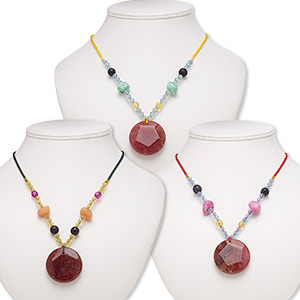 Necklace components Grade B Mixed Gemstones