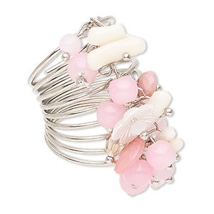 Finger Rings Coral Multi-colored