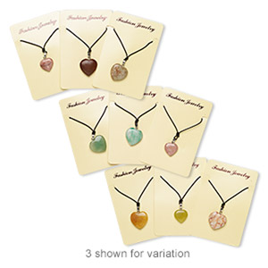 Pendant Style Mixed Gemstones Mixed Colors