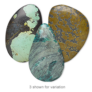 Cabochons Classic Turquoise Mixed Colors