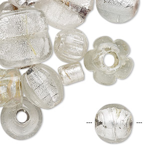 Beads Lampwork Glass Clear