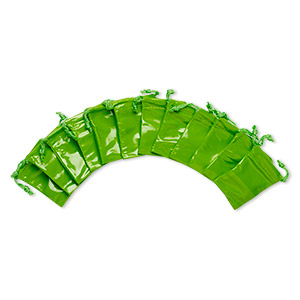 Pouches Leatherette Greens