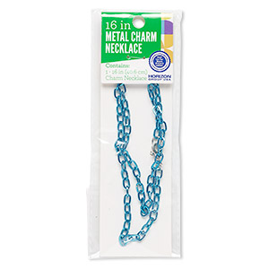 Chain Necklaces Steel Blues