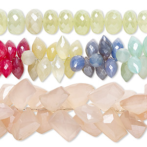 Beads Chalcedony Mixed Colors