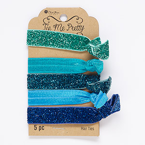 Hair Accessories Mixed Colors Blue Moon Beads