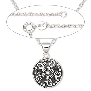 Pendant Style Sterling Silver Blacks
