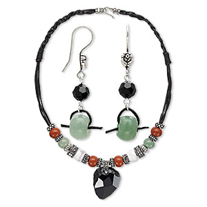 Jewelry Sets Mixed Gemstones Multi-colored