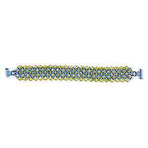 Other Bracelet Styles Glass Multi-colored