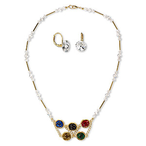 Jewelry Sets Crystal Multi-colored