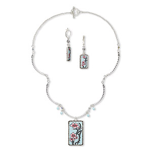 Jewelry Sets Silver Plated/Finished Multi-colored
