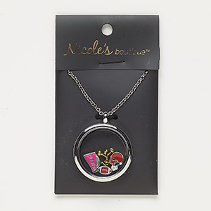 Pendant Style Silver Plated/Finished Mixed Colors