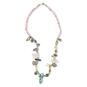 Other Necklace Styles Glass Multi-colored